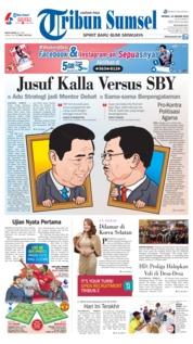 Cover Tribun Sumsel 13 Januari 2019