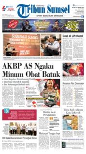 Cover Tribun Sumsel 15 Januari 2019