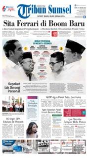 Cover Tribun Sumsel 17 Januari 2019