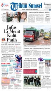 Cover Tribun Sumsel 23 Januari 2019