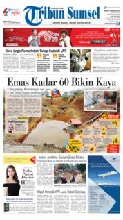 Cover Tribun Sumsel 04 Februari 2019
