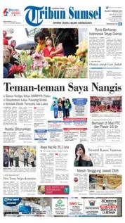 Cover Tribun Sumsel 05 Februari 2019