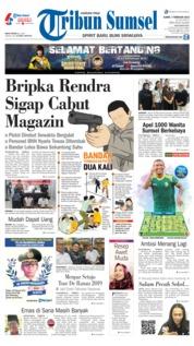 Cover Tribun Sumsel 07 Februari 2019
