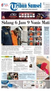 Cover Tribun Sumsel 08 Februari 2019