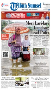 Tribun Sumsel Cover 09 February 2019