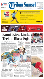 Tribun Sumsel Cover 11 February 2019