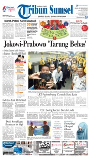 Tribun Sumsel Cover 12 February 2019