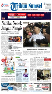 Tribun Sumsel Cover 13 February 2019