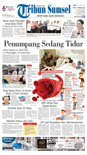 Tribun Sumsel Cover 14 February 2019