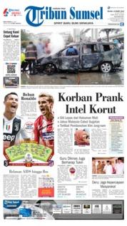 Cover Tribun Sumsel 12 Maret 2019