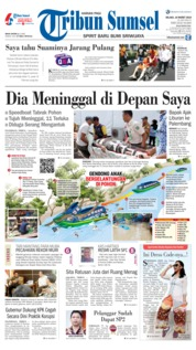 Tribun Sumsel Cover 19 March 2019