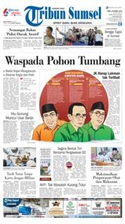 Cover Tribun Sumsel 20 Maret 2019