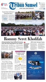 Tribun Sumsel Cover 23 March 2019