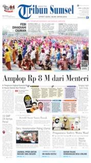 Cover Tribun Sumsel 11 April 2019