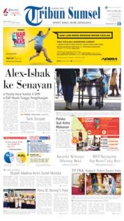 Cover Tribun Sumsel 22 April 2019