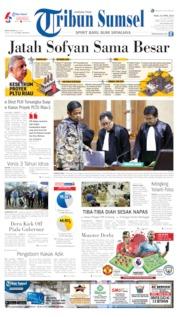 Tribun Sumsel Cover 24 April 2019