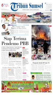 Tribun Sumsel Cover 16 May 2019