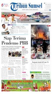 Cover Tribun Sumsel 16 Mei 2019