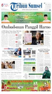 Tribun Sumsel Cover 17 May 2019