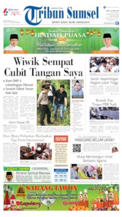 Cover Tribun Sumsel 18 Mei 2019