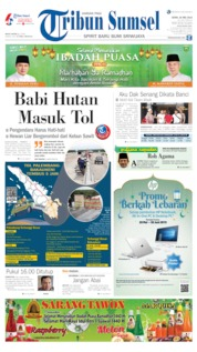 Tribun Sumsel Cover 20 May 2019