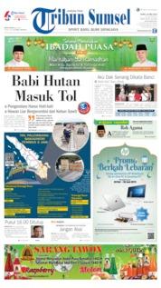 Cover Tribun Sumsel 20 Mei 2019