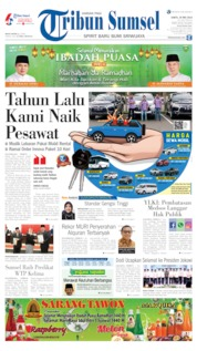 Tribun Sumsel Cover 25 May 2019