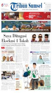 Tribun Sumsel Cover 12 June 2019