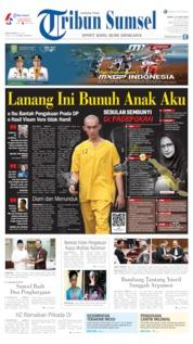 Cover Tribun Sumsel 15 Juni 2019
