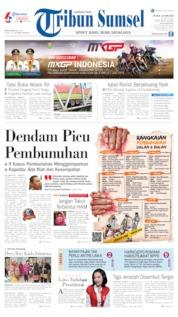 Cover Tribun Sumsel 18 Juni 2019