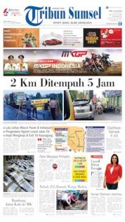 Cover Tribun Sumsel 19 Juni 2019