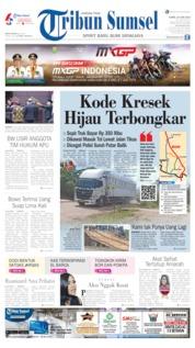 Cover Tribun Sumsel 20 Juni 2019