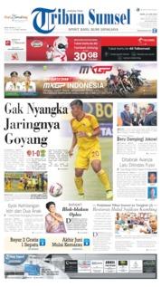 Cover Tribun Sumsel 24 Juni 2019