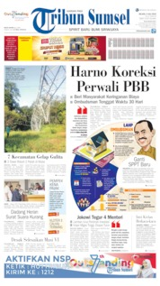 Tribun Sumsel Cover 09 July 2019