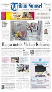 Cover Tribun Sumsel 12 Juli 2019