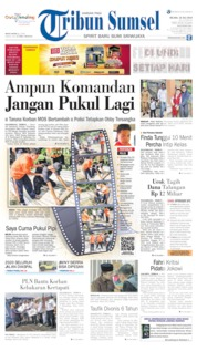 Tribun Sumsel Cover 16 July 2019
