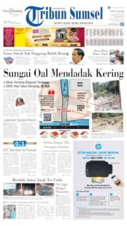 Tribun Sumsel Cover 19 July 2019