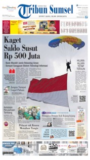 Tribun Sumsel Cover 21 July 2019