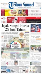 Cover Tribun Sumsel 22 Juli 2019