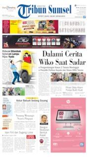 Cover Tribun Sumsel 23 Juli 2019
