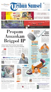 Tribun Sumsel Cover 24 July 2019