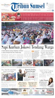 Tribun Sumsel Cover 12 August 2019
