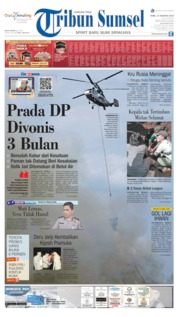 Tribun Sumsel Cover 14 August 2019