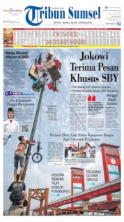 Tribun Sumsel Cover 18 August 2019