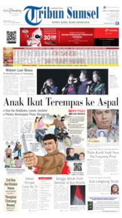 Tribun Sumsel Cover 19 August 2019