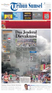 Tribun Sumsel Cover 20 August 2019