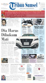 Tribun Sumsel Cover 23 August 2019