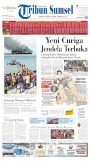 Tribun Sumsel Cover 24 August 2019