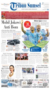 Tribun Sumsel Cover 25 August 2019
