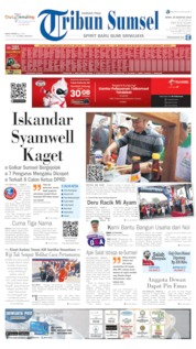 Tribun Sumsel Cover 26 August 2019